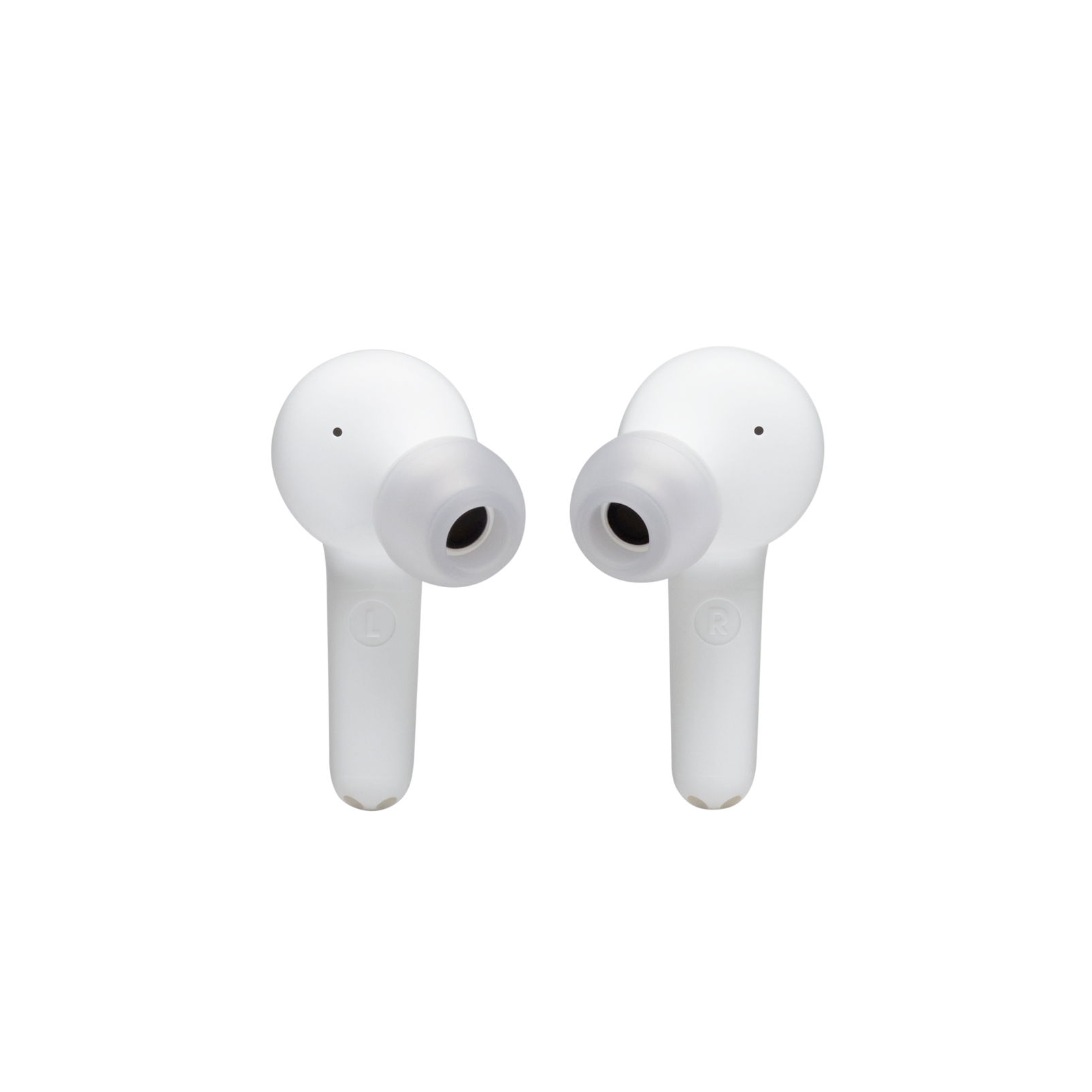 JBL Tune 215TWS - White - True wireless earbud headphones - Detailshot 1