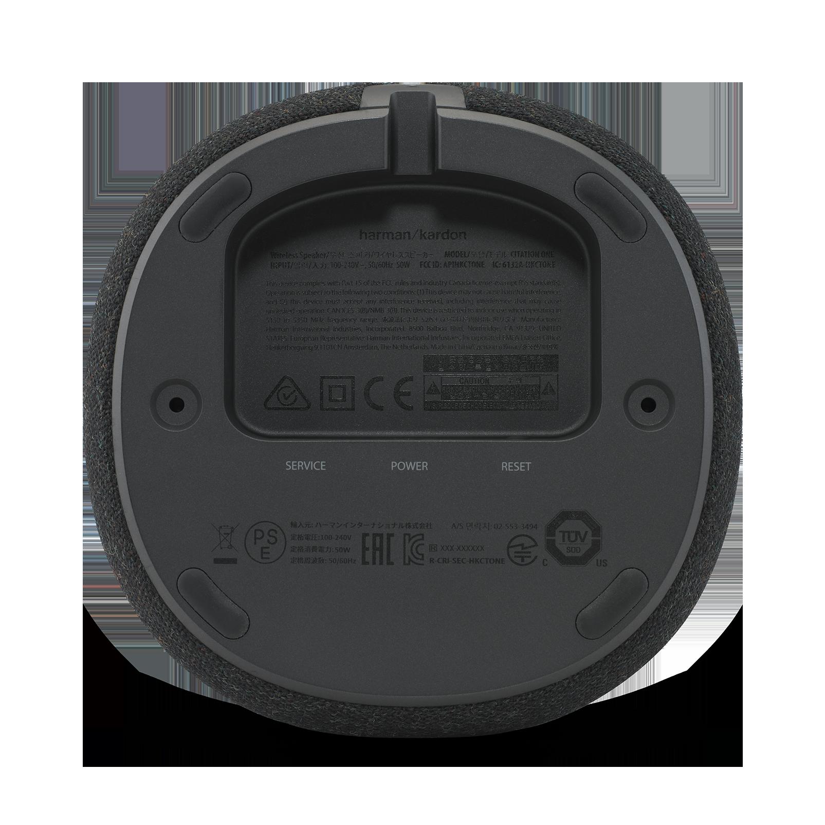 Harman Kardon Citation ONE - Black - Compact, smart and amazing sound - Detailshot 2