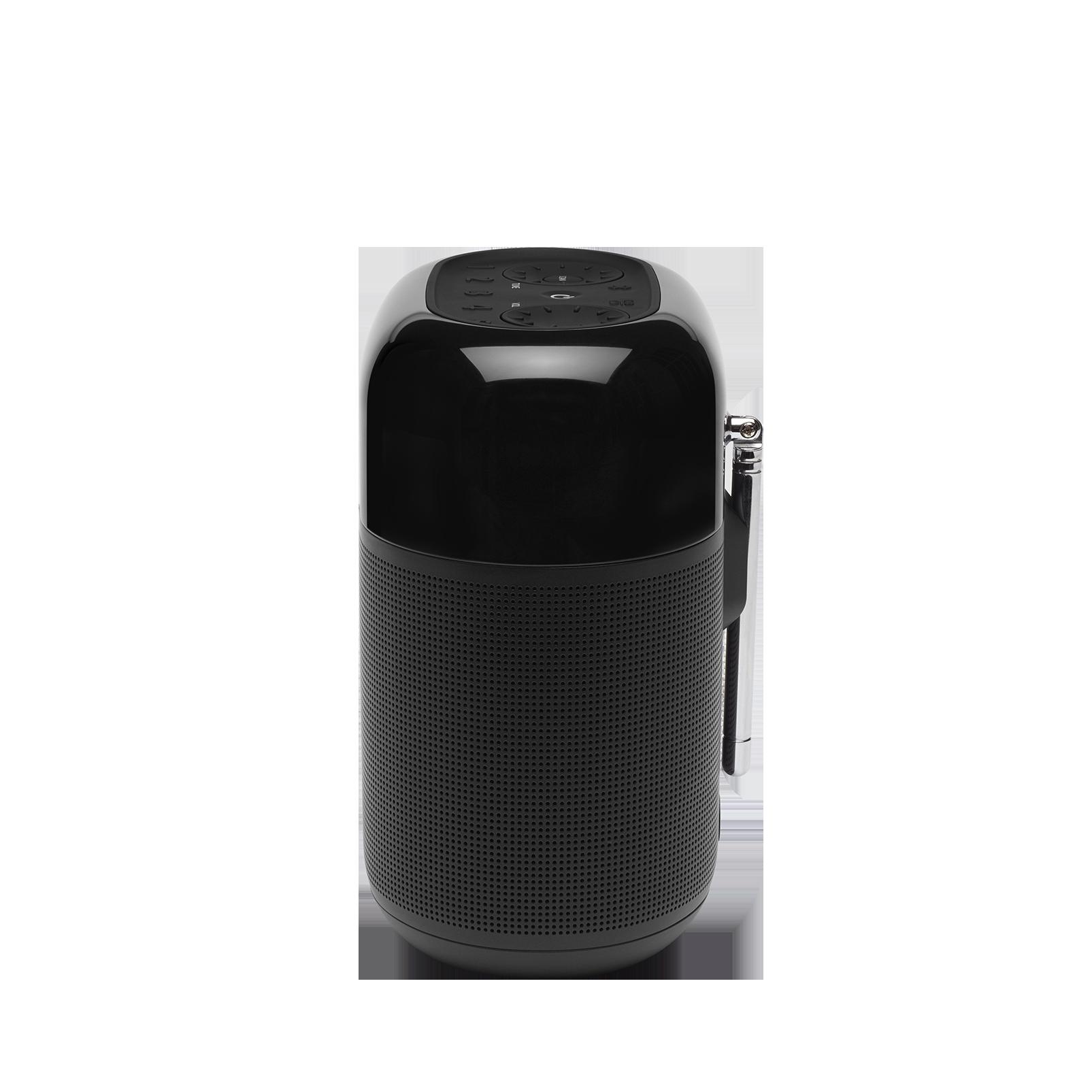 JBL Tuner XL - Black - Portable powerful DAB/DAB+/FM radio with Bluetooth - Left