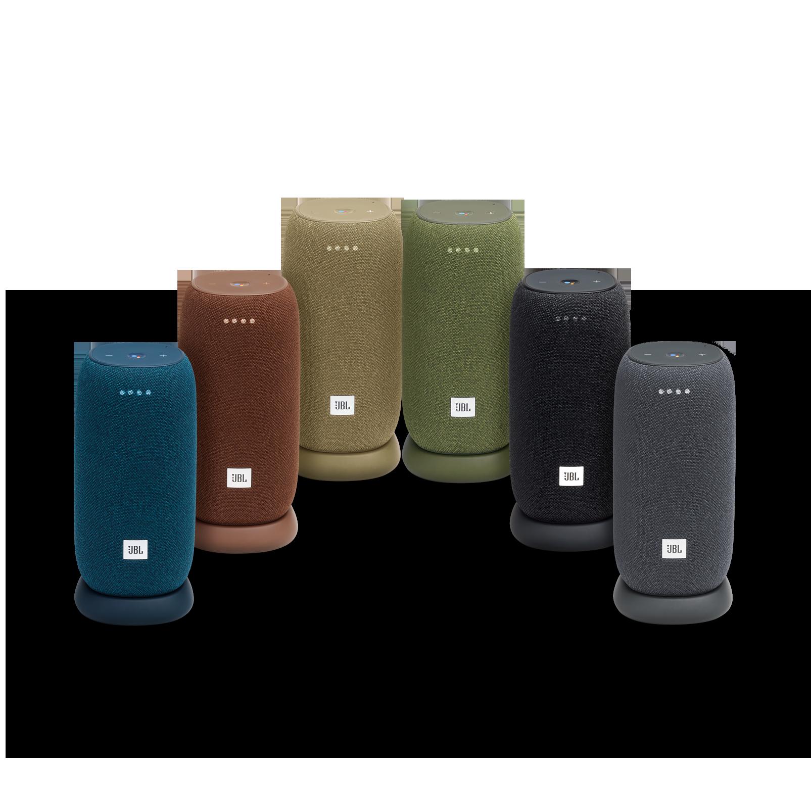 JBL Link Portable - Black - Portable Wi-Fi Speaker - Detailshot 3
