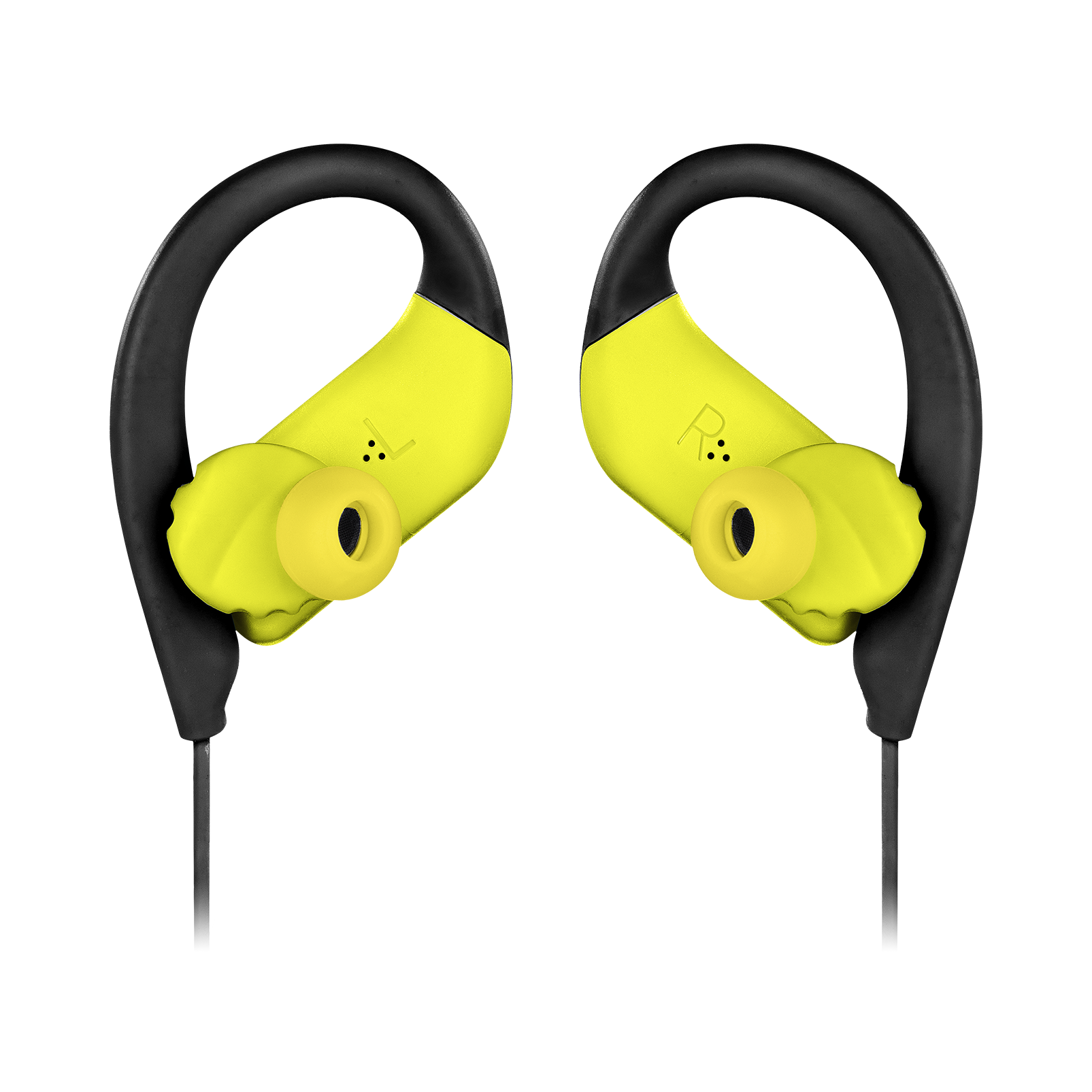 JBL Endurance SPRINT - Yellow - Waterproof Wireless In-Ear Sport Headphones - Detailshot 3