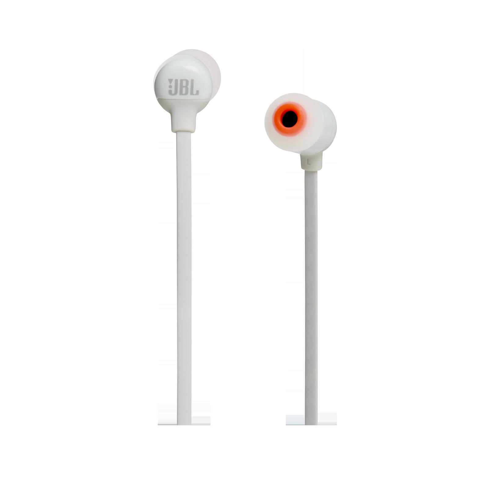 JBL TUNE 110BT - White - Wireless in-ear headphones - Front