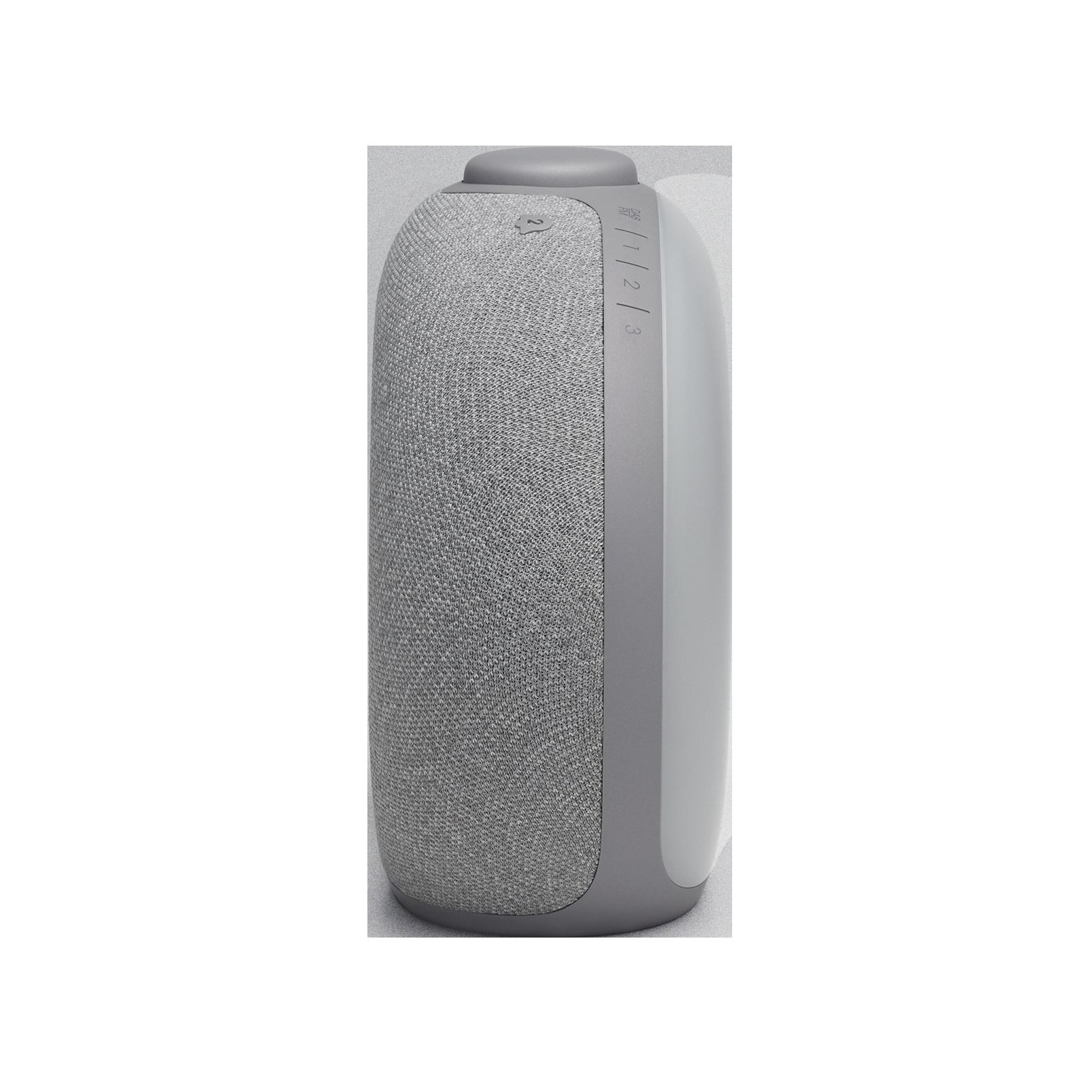 JBL Horizon 2 DAB - Grey - Bluetooth clock radio speaker with DAB/DAB+/FM - Left