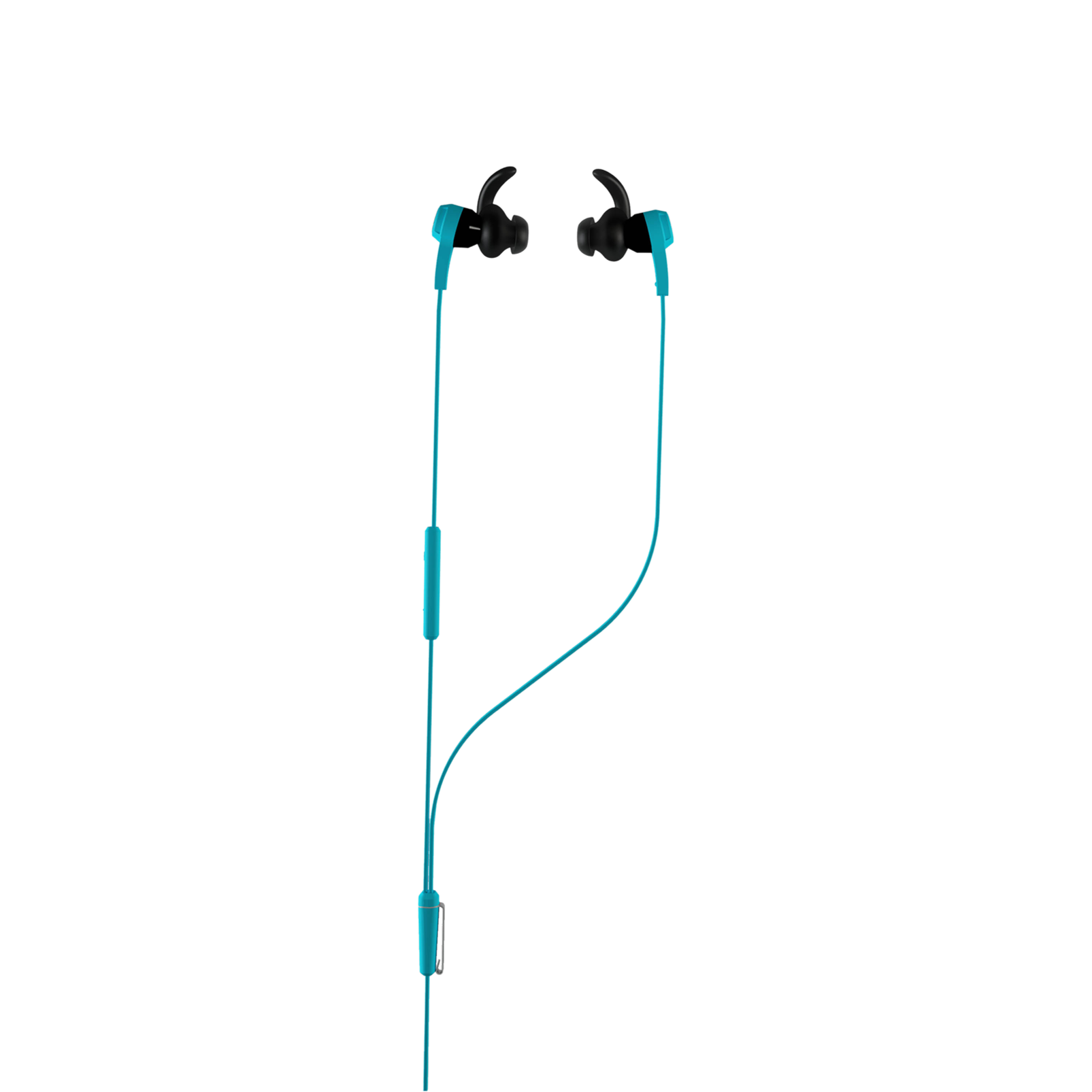 Synchros Reflect-I - Blue - Workout-ready, in-ear sport headphones for iOS devices - Hero