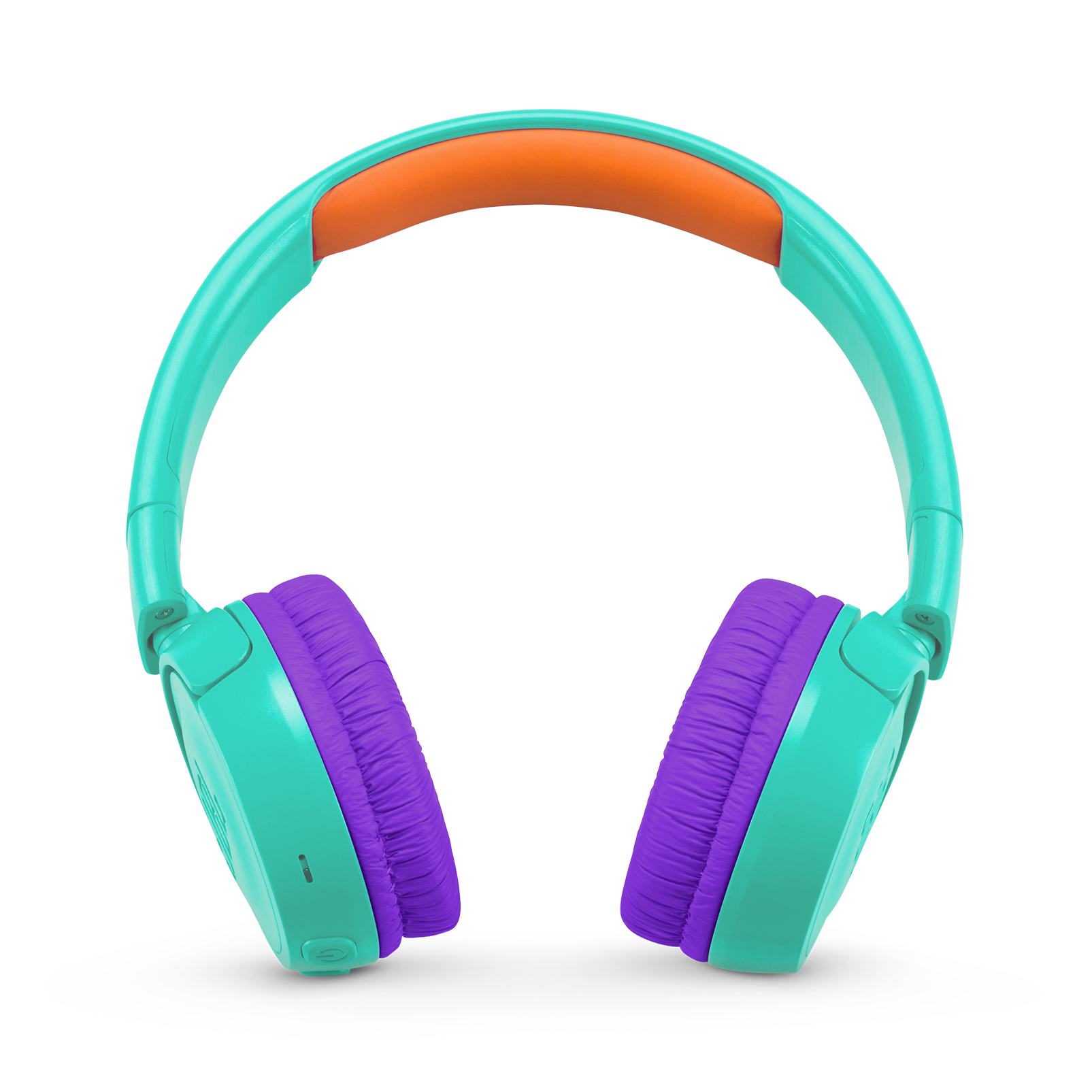 JBL JR300BT - Tropic Teal - Kids Wireless on-ear headphones - Front