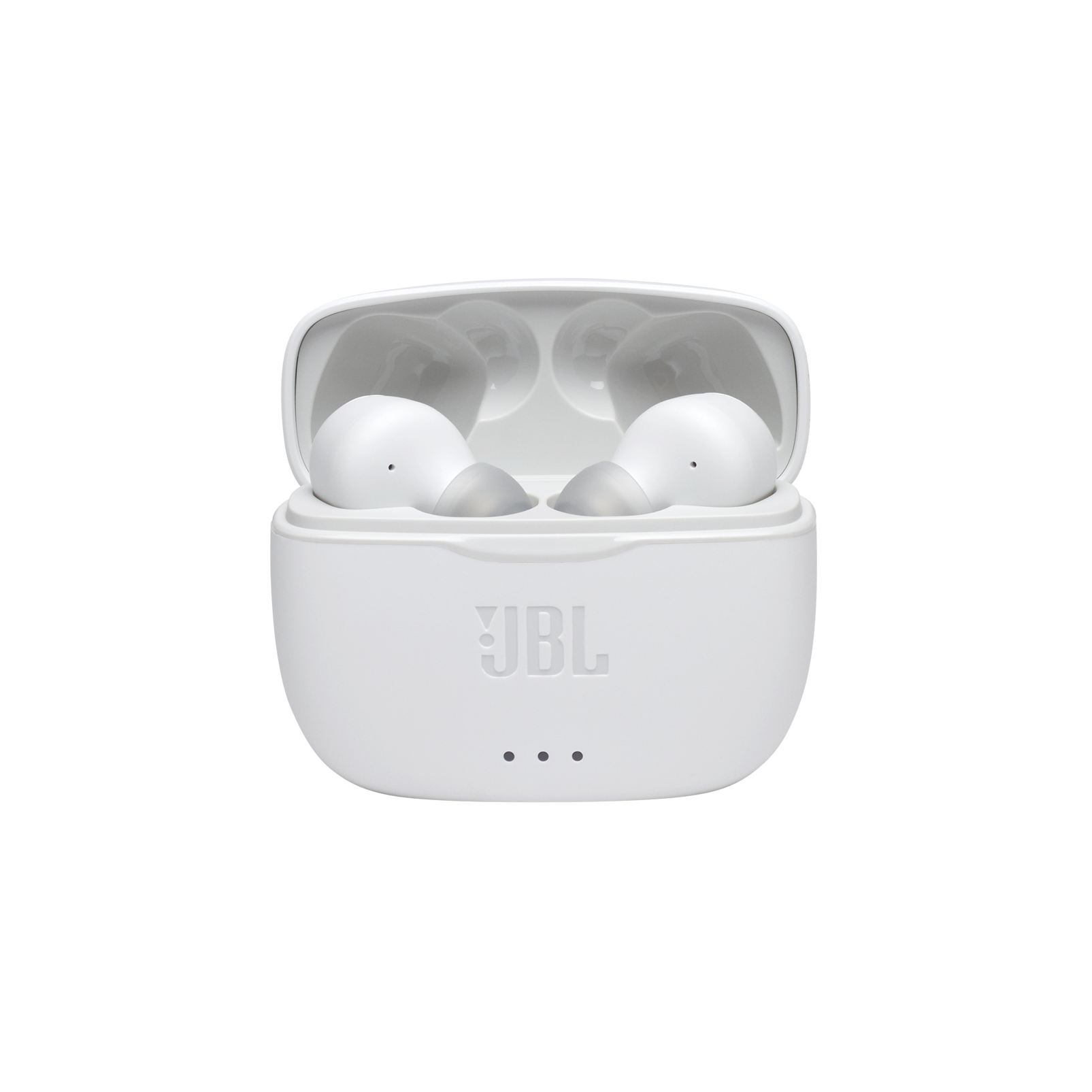 JBL Tune 215TWS - White - True wireless earbud headphones - Detailshot 4