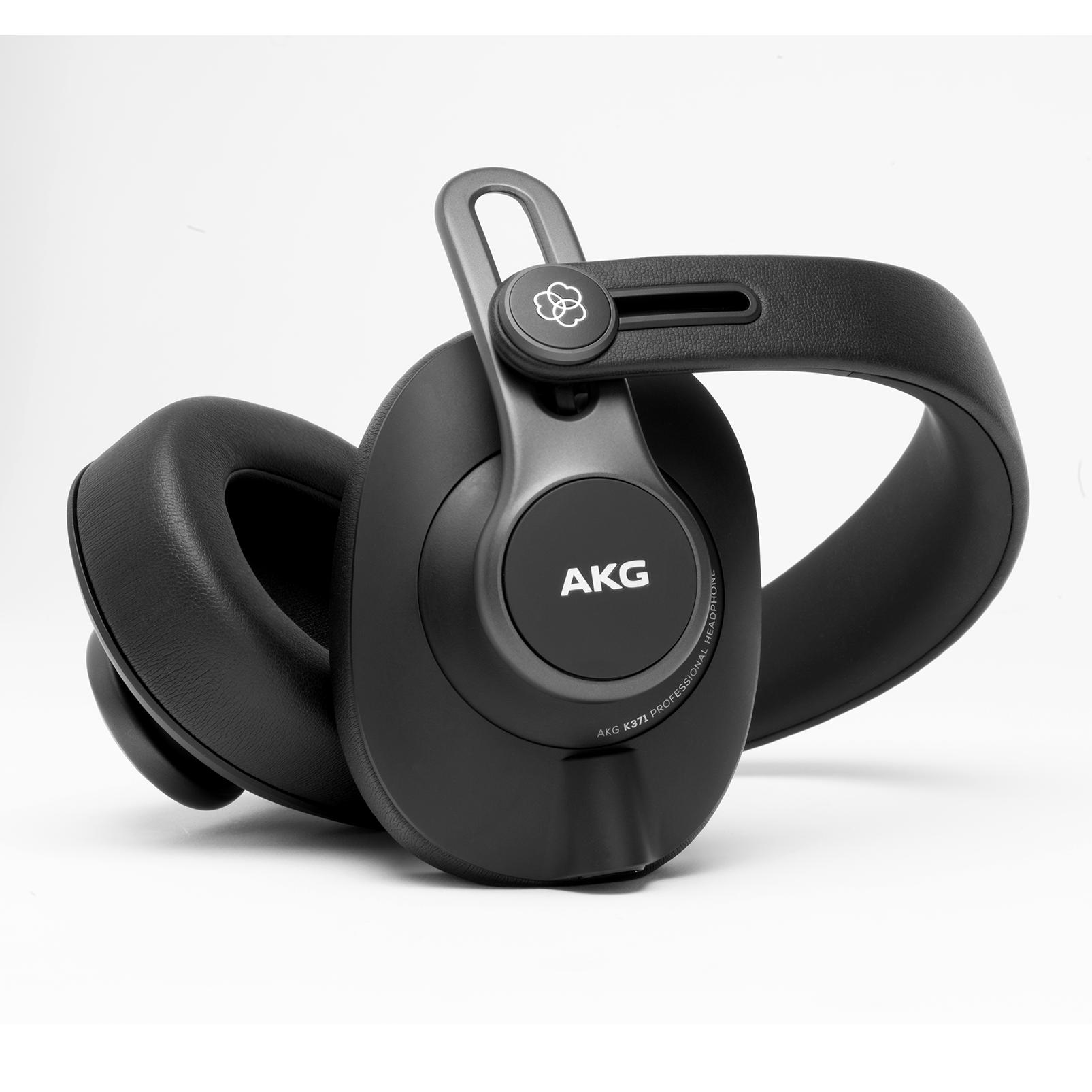 K371 - Black - Over-ear, closed-back, foldable studio headphones - Detailshot 1