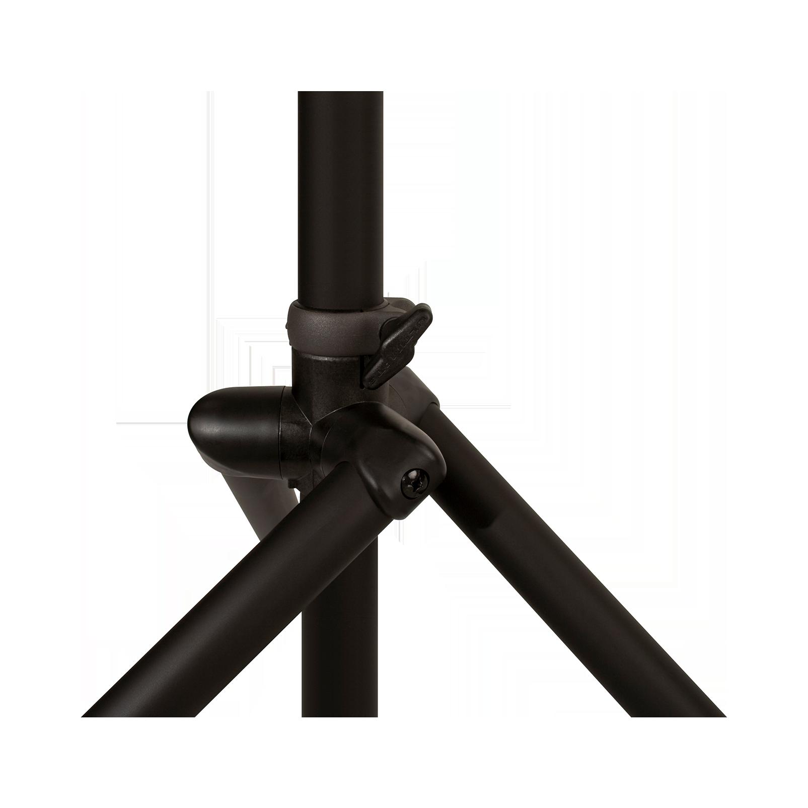 JBL Tripod Stand (Gas Assist) - Black - Lift-assist Aluminum Tripod Speaker Stand with Integrated Speaker Adapter - Detailshot 4
