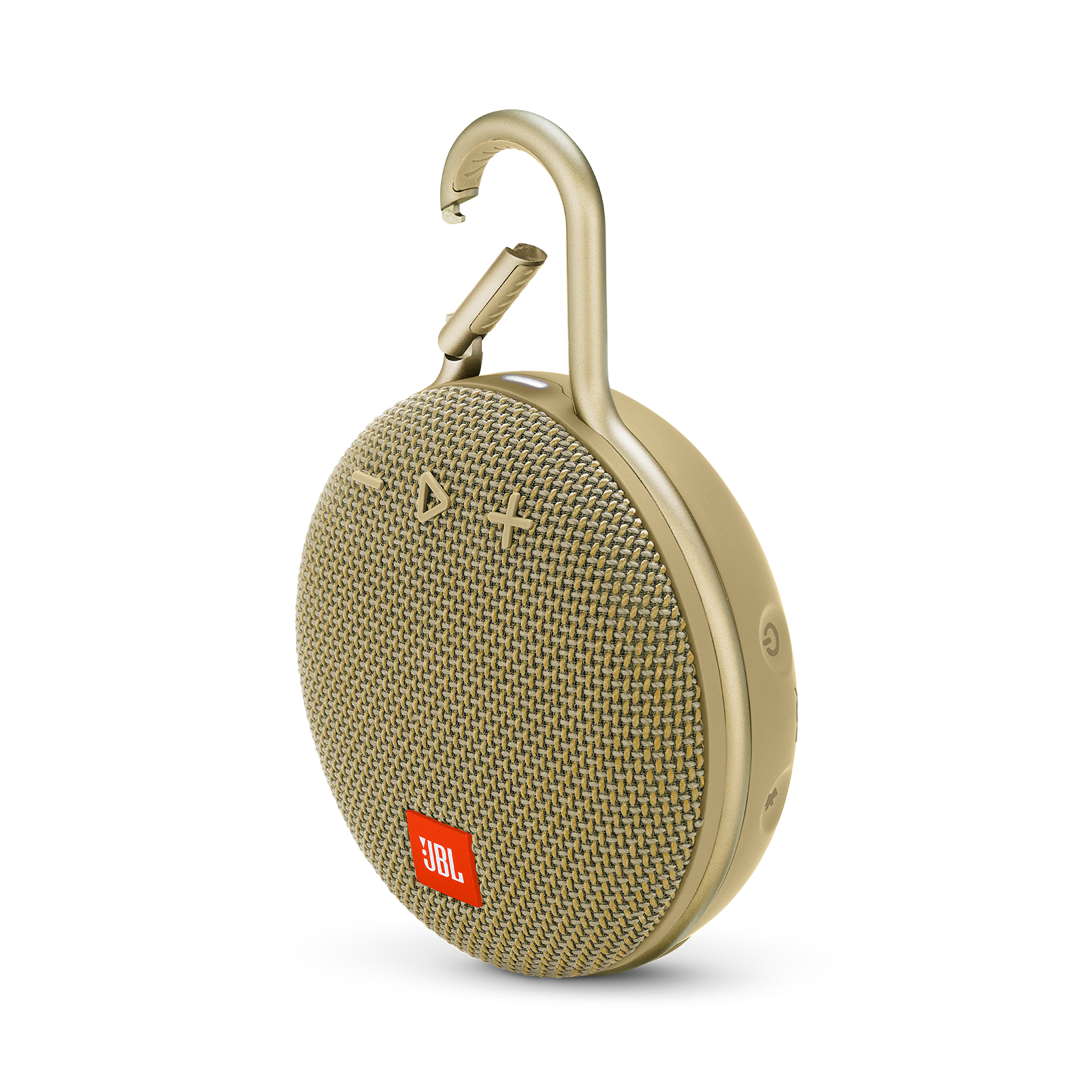 JBL CLIP 3 - Desert Sand - Portable Bluetooth® speaker - Hero