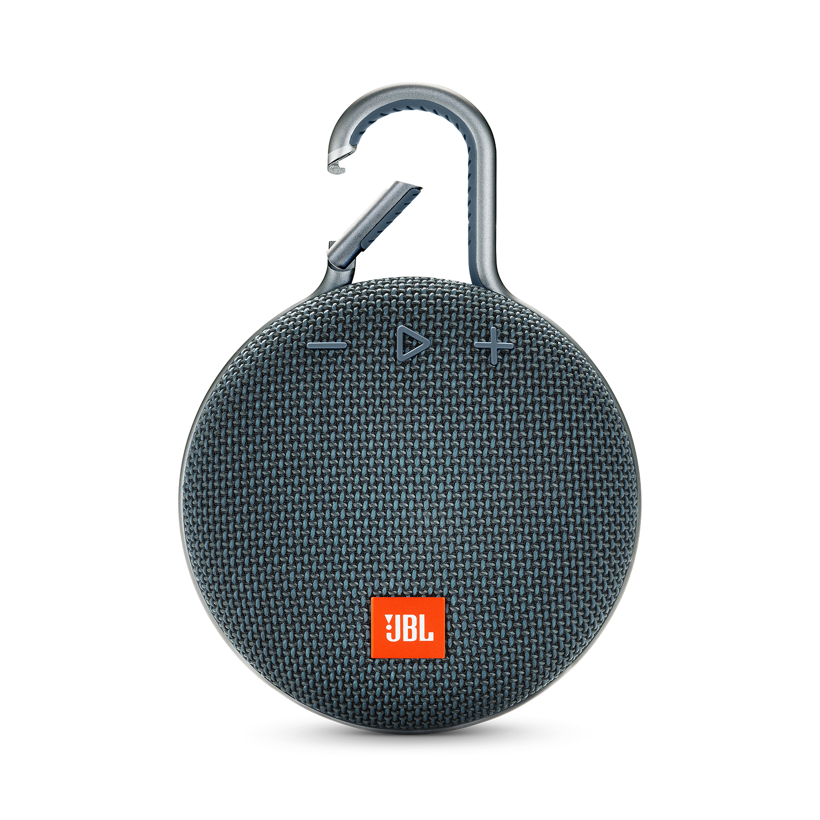 JBL CLIP 3 - Ocean Blue - Portable Bluetooth® speaker - Front