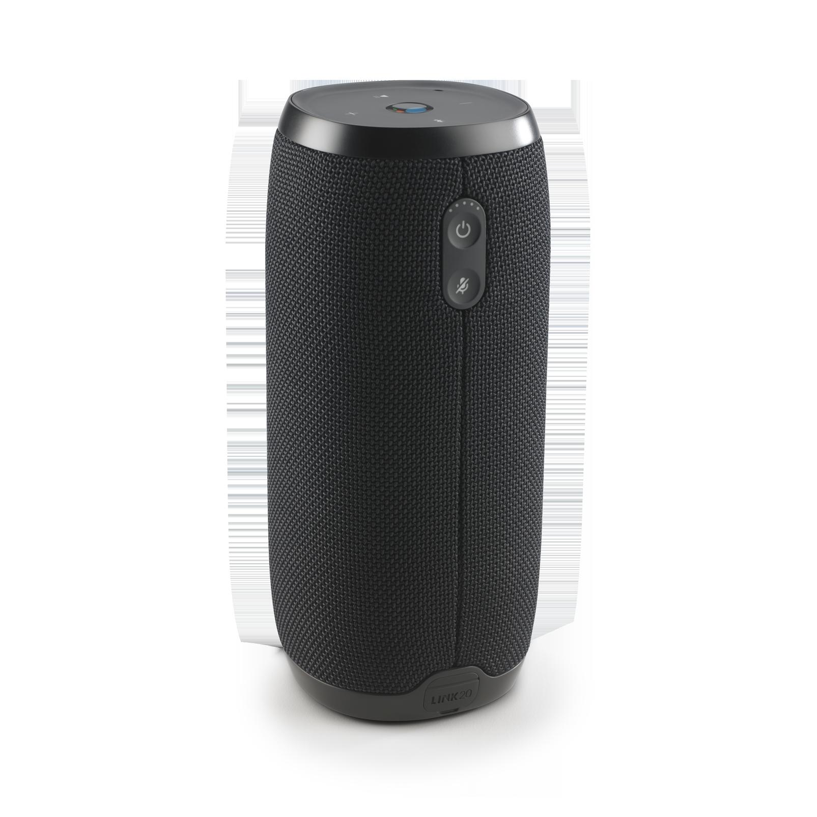 JBL Link 20 - Black - Voice-activated portable speaker - Back