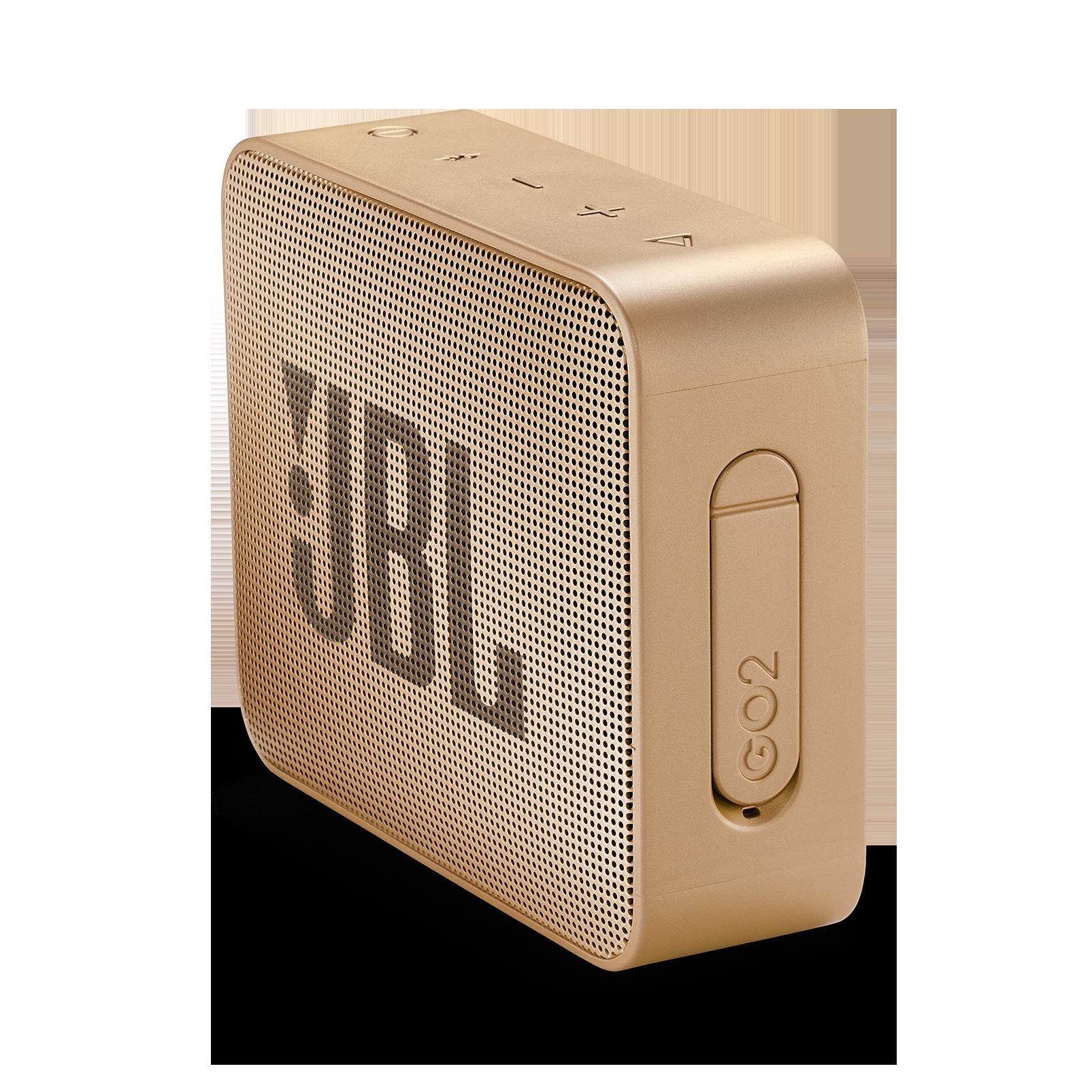 JBL GO 2 - Pearl Champagne - Portable Bluetooth speaker - Detailshot 2
