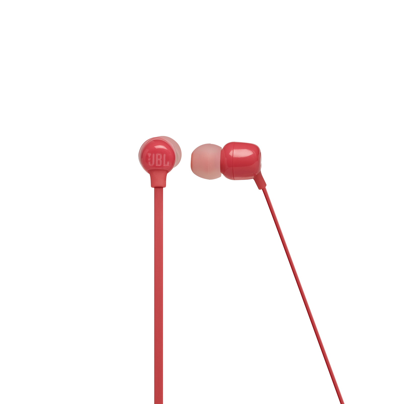 JBL TUNE 115BT - Coral Orange - Wireless In-Ear headphones - Front
