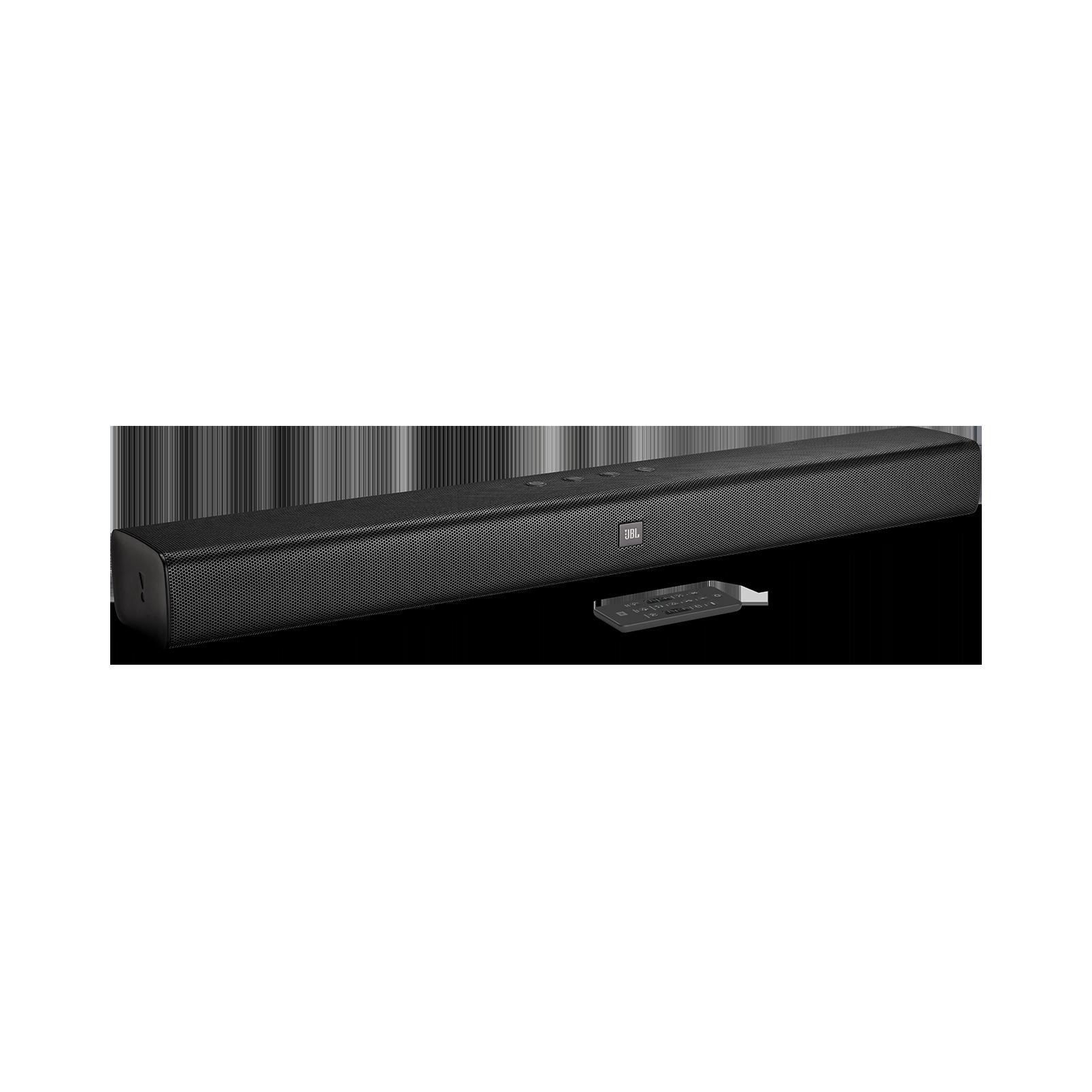 JBL Bar Studio - Black - 2.0 - Channel Soundbar with Bluetooth - Hero