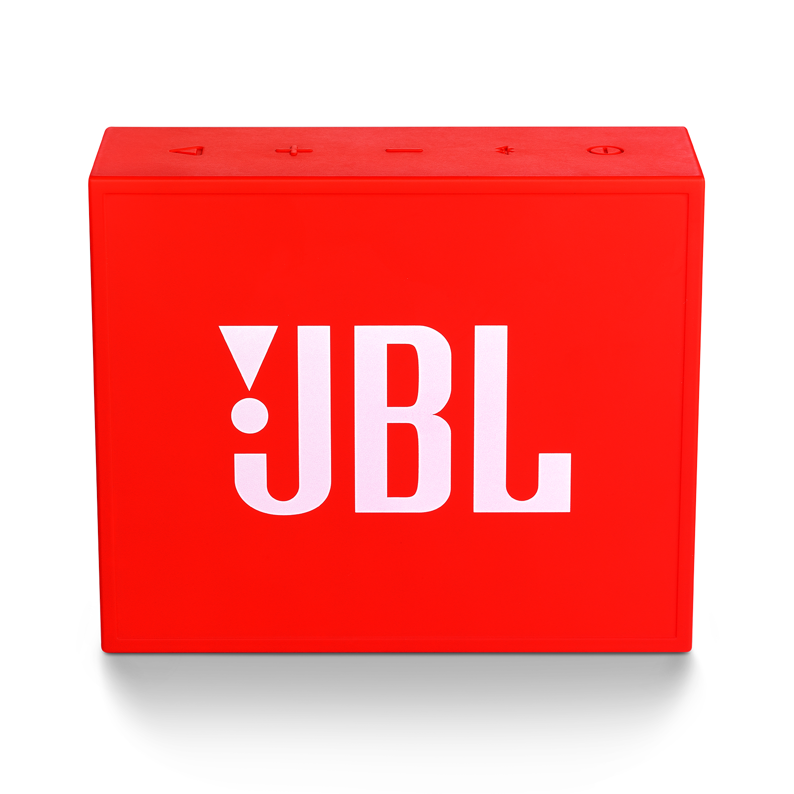 JBL GO+ - Red - Portable Bluetooth® Speaker - Back