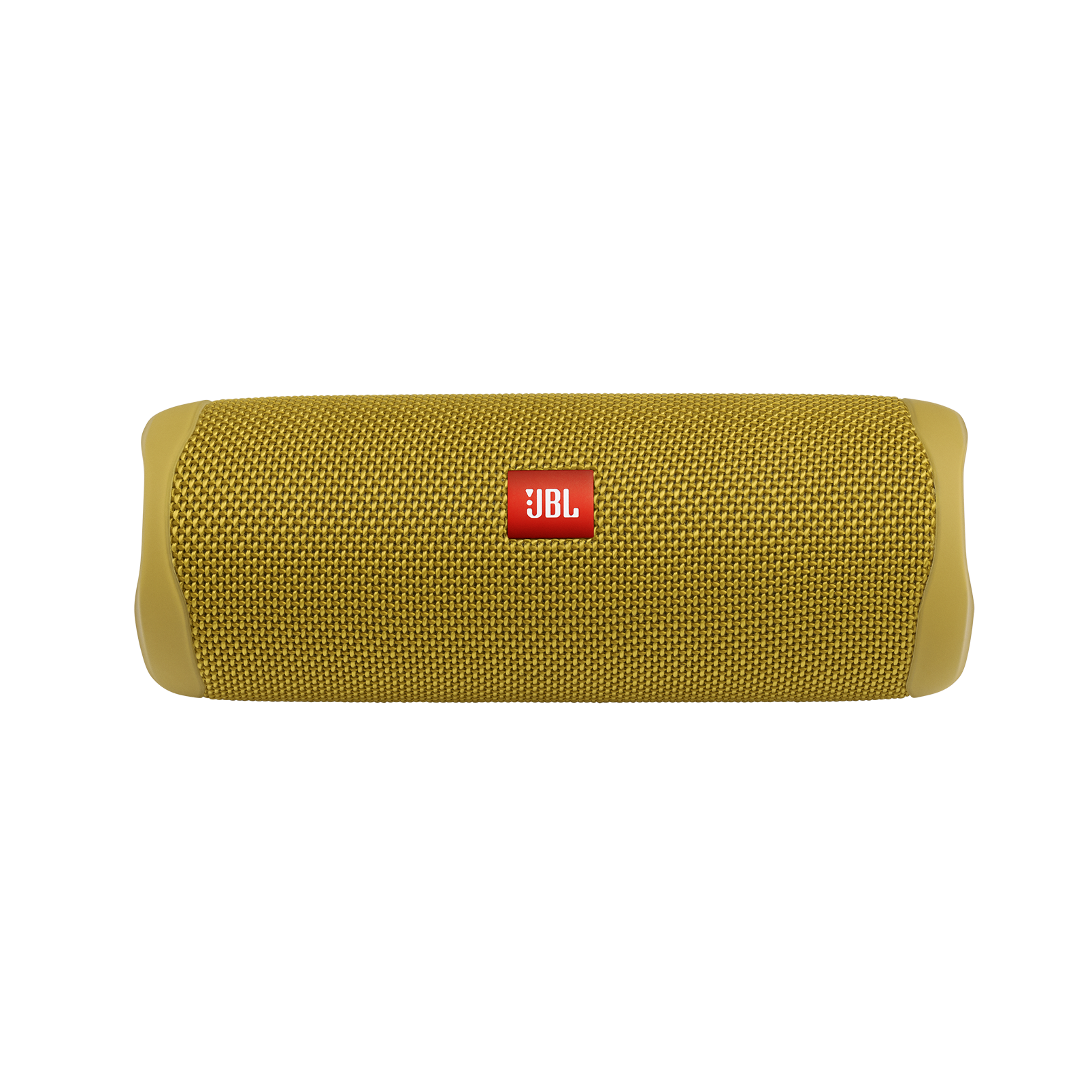 JBL FLIP 5 - Mustard Yellow - Portable Waterproof Speaker - Front