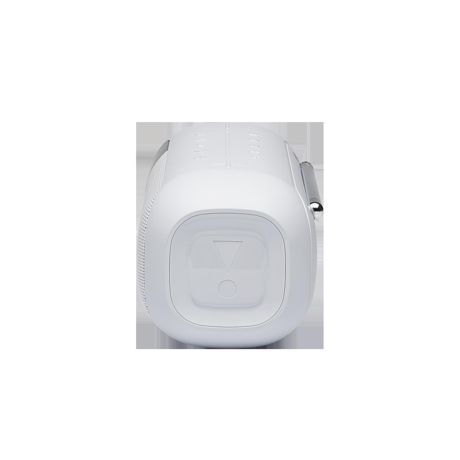 JBL Tuner 2 - White - Portable DAB/DAB+/FM radio with Bluetooth - Left