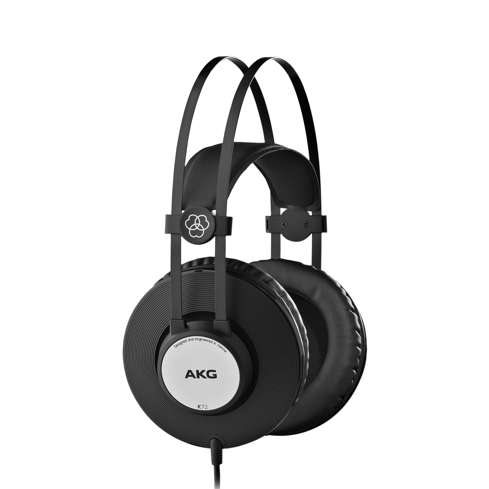 K72 - Black - Closed-back studio headphones - Hero