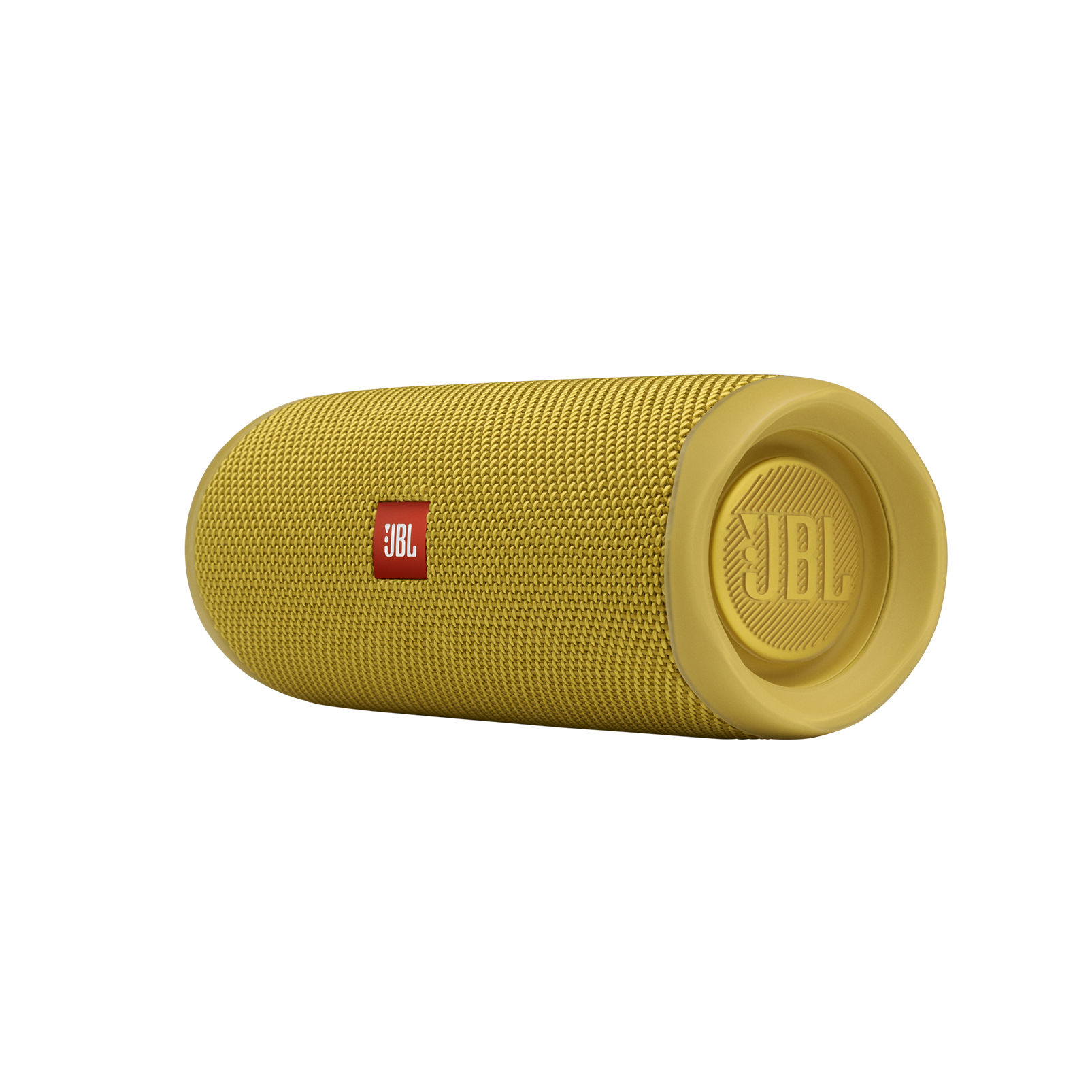 JBL FLIP 5 - Mustard Yellow - Portable Waterproof Speaker - Detailshot 3