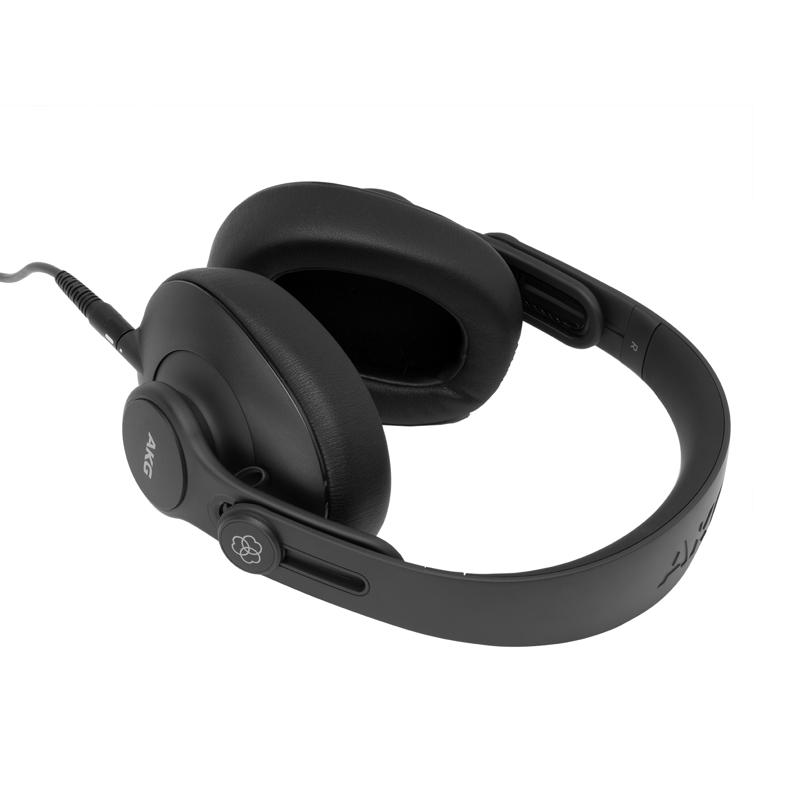 K361 - Black - Over-ear, closed-back, foldable studio headphones - Detailshot 3
