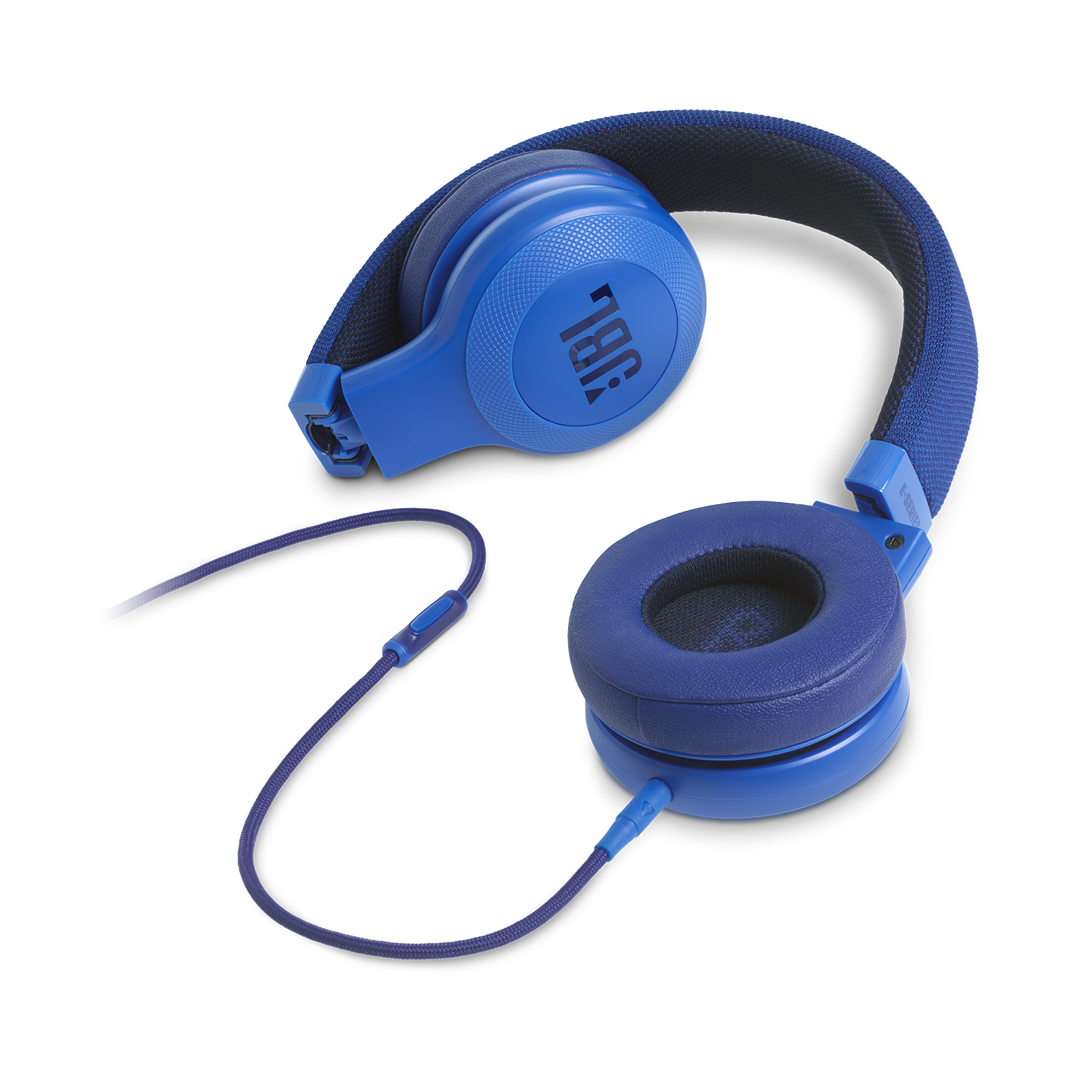 E35 - Blue - On-ear headphones - Detailshot 3
