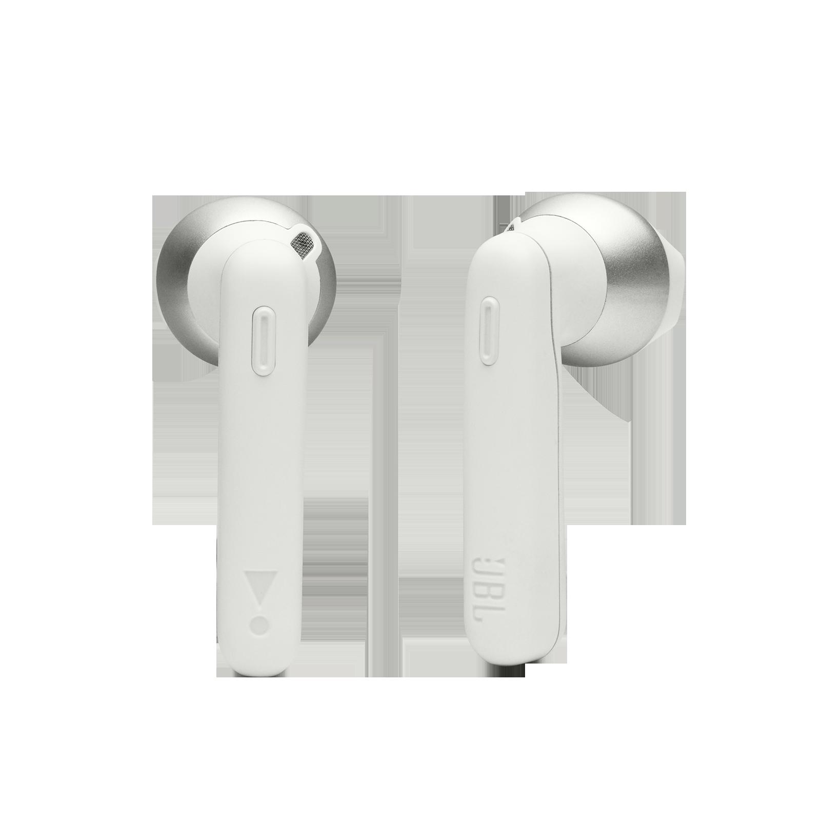 JBL Tune 220TWS - White - True wireless earbuds - Detailshot 1