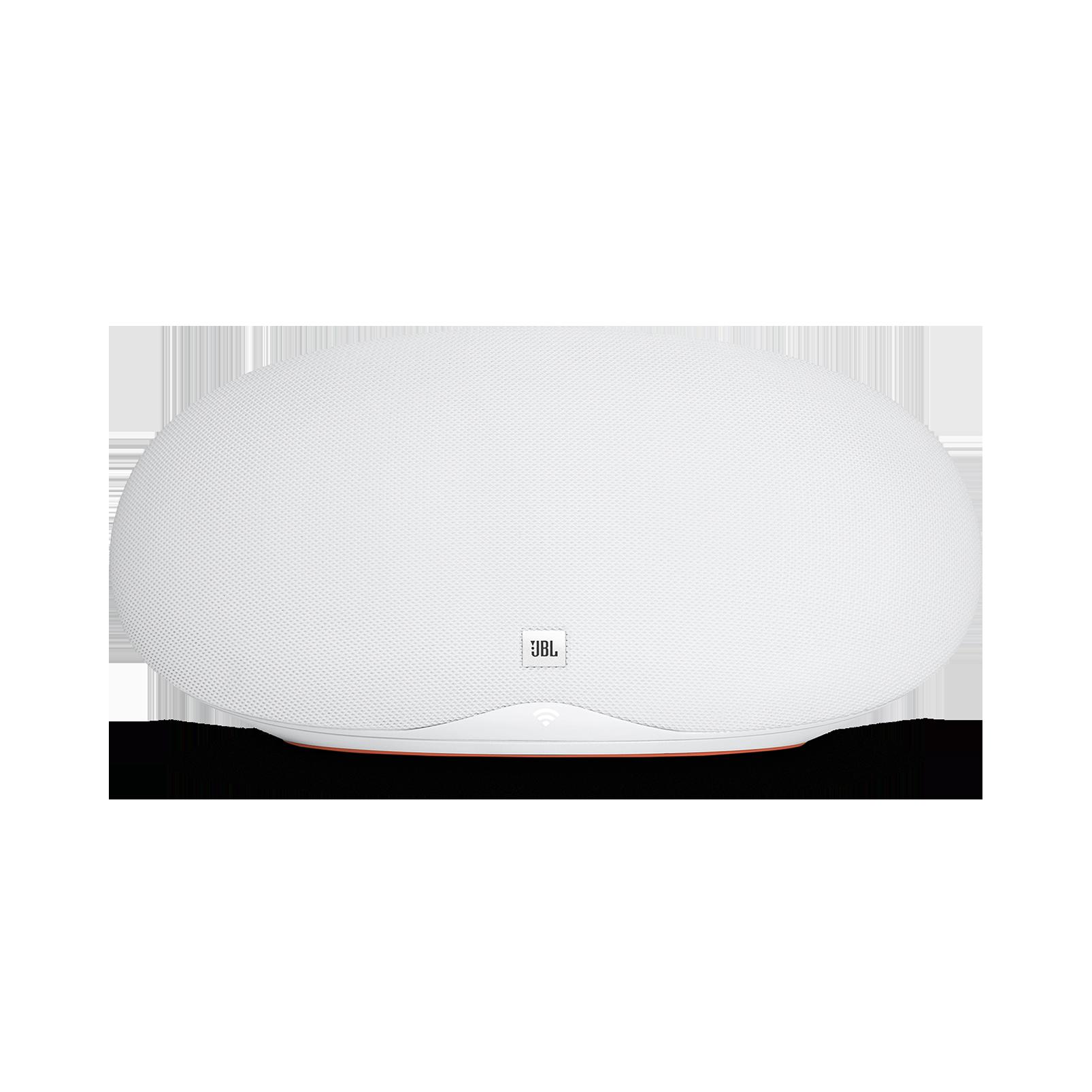 JBL Playlist - White - Wireless speaker with Chromecast built-in - Front